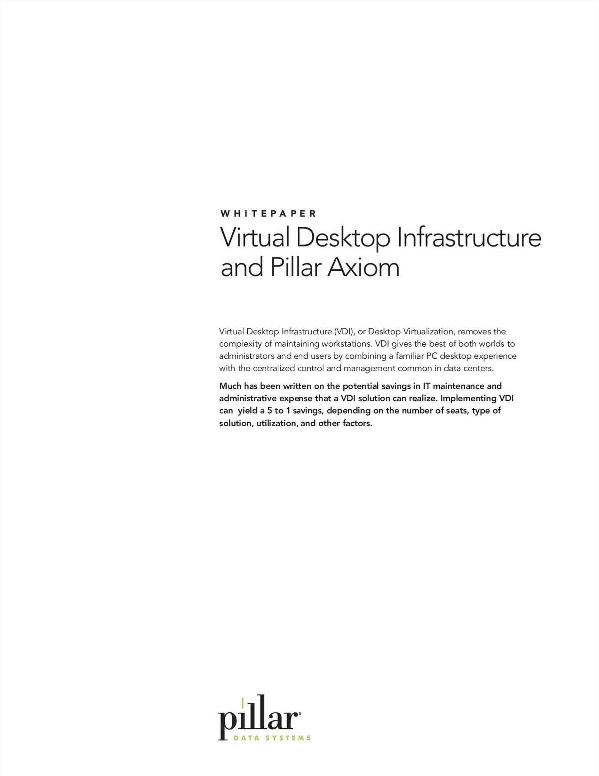 Benefits of a Virtual Desktop Infrastructure