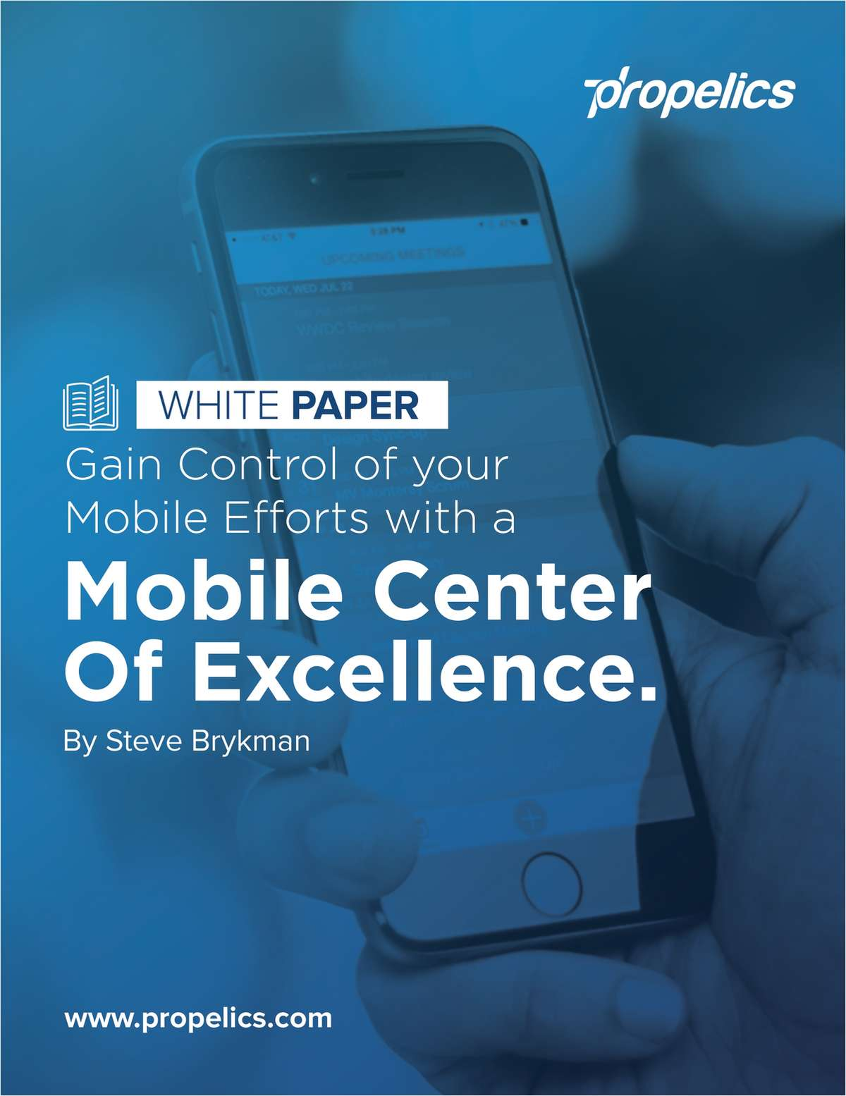 White Paper - Gain Control of Your Mobile Efforts With a Mobile Center of Excellence