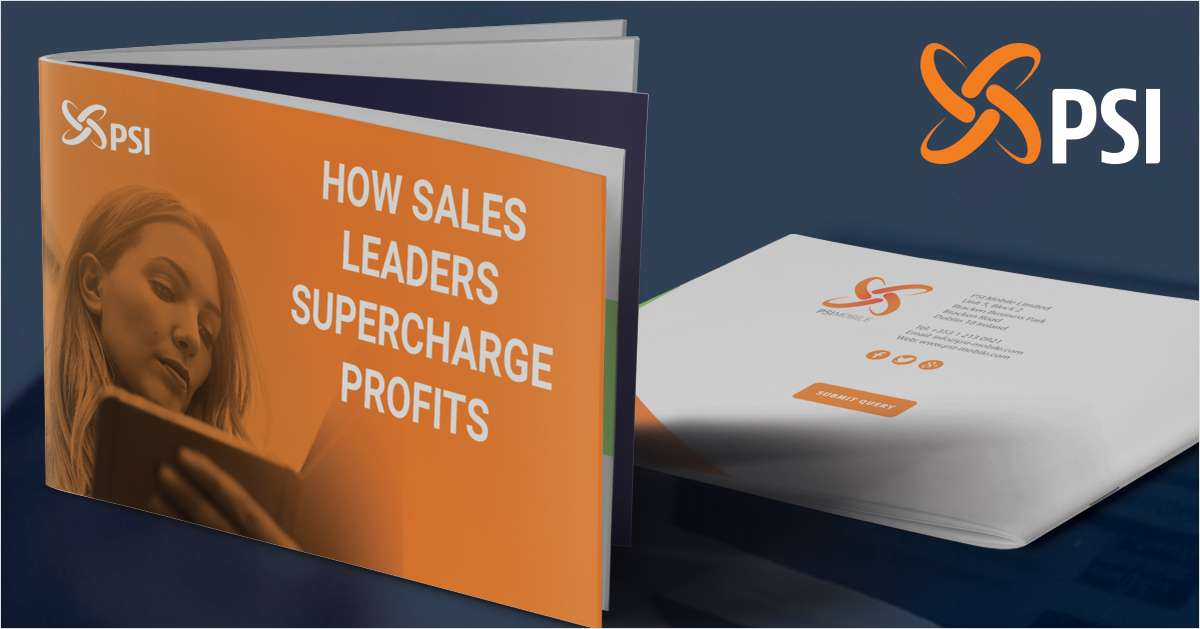 How Sales Leaders Supercharge Profits