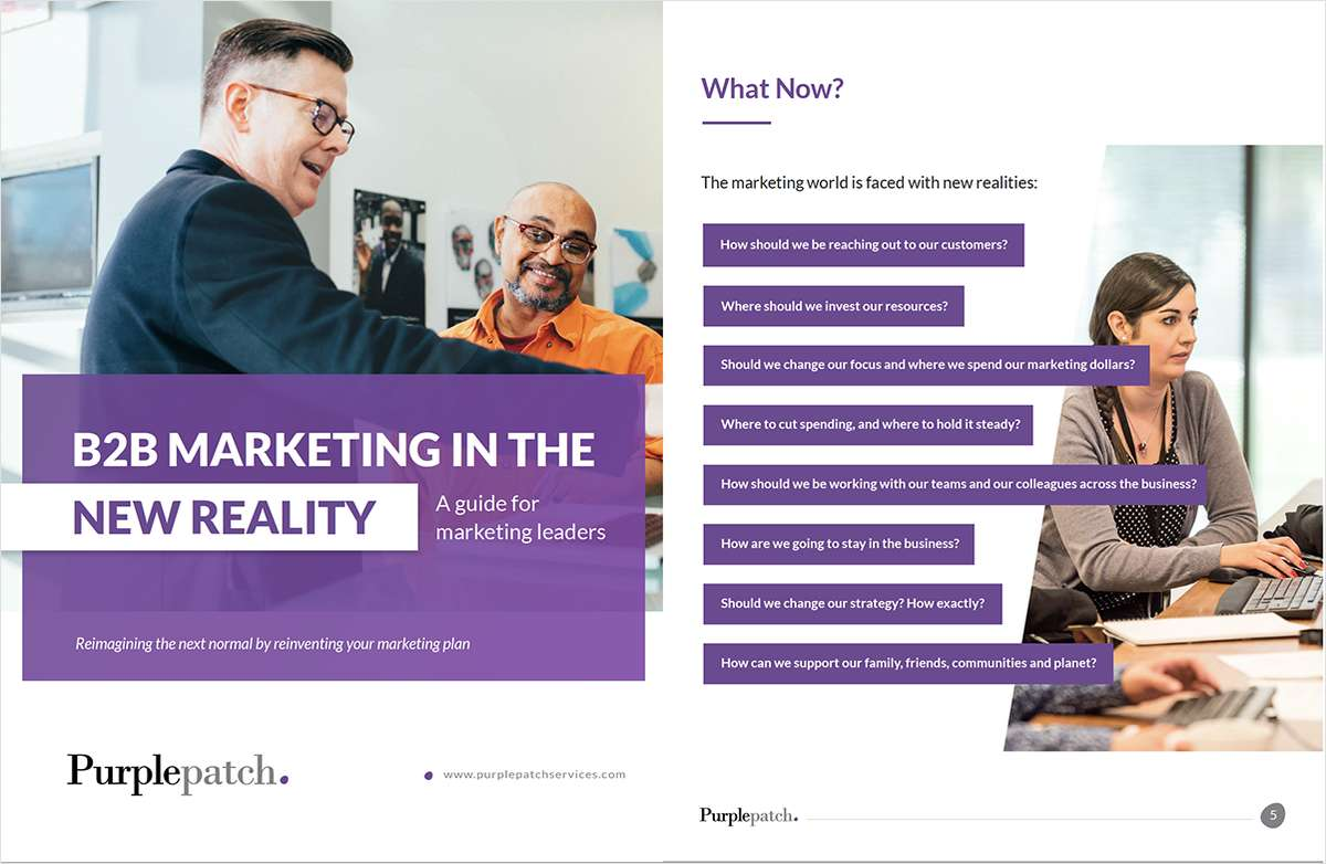 B2B Marketing in the New Reality: how to weave empathy and empowerment into your communication for the new era of B2B collaboration