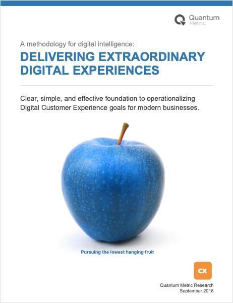 Delivering Extraordinary Digital Experiences