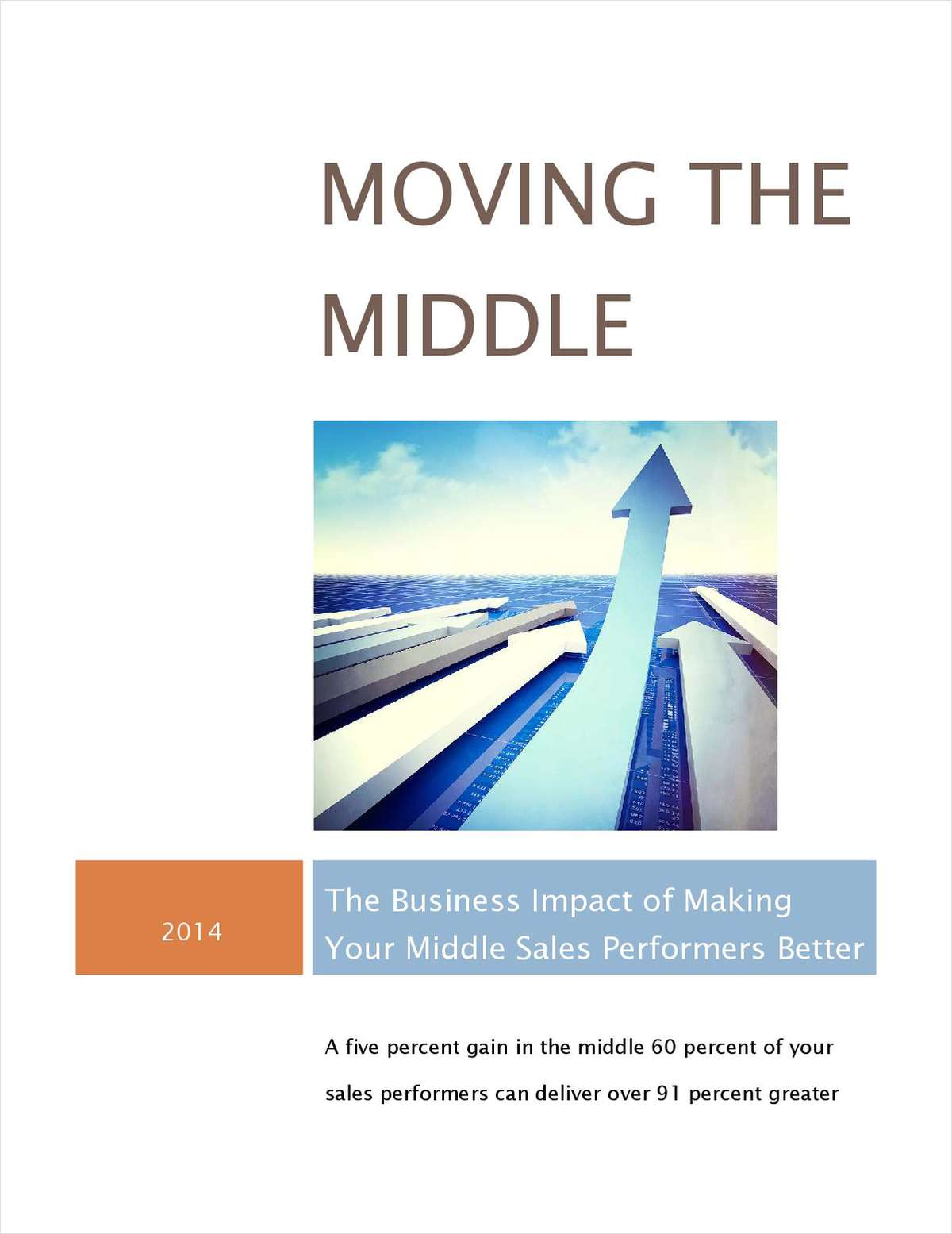 Moving the Middle: The Business Impact of Making Your Middle Sales Performers Better
