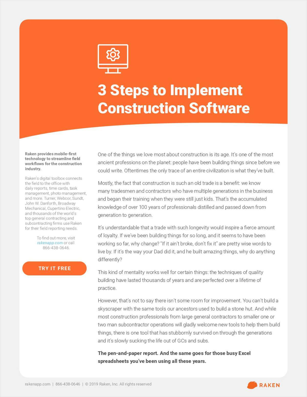 3 Steps to Implement Construction Software