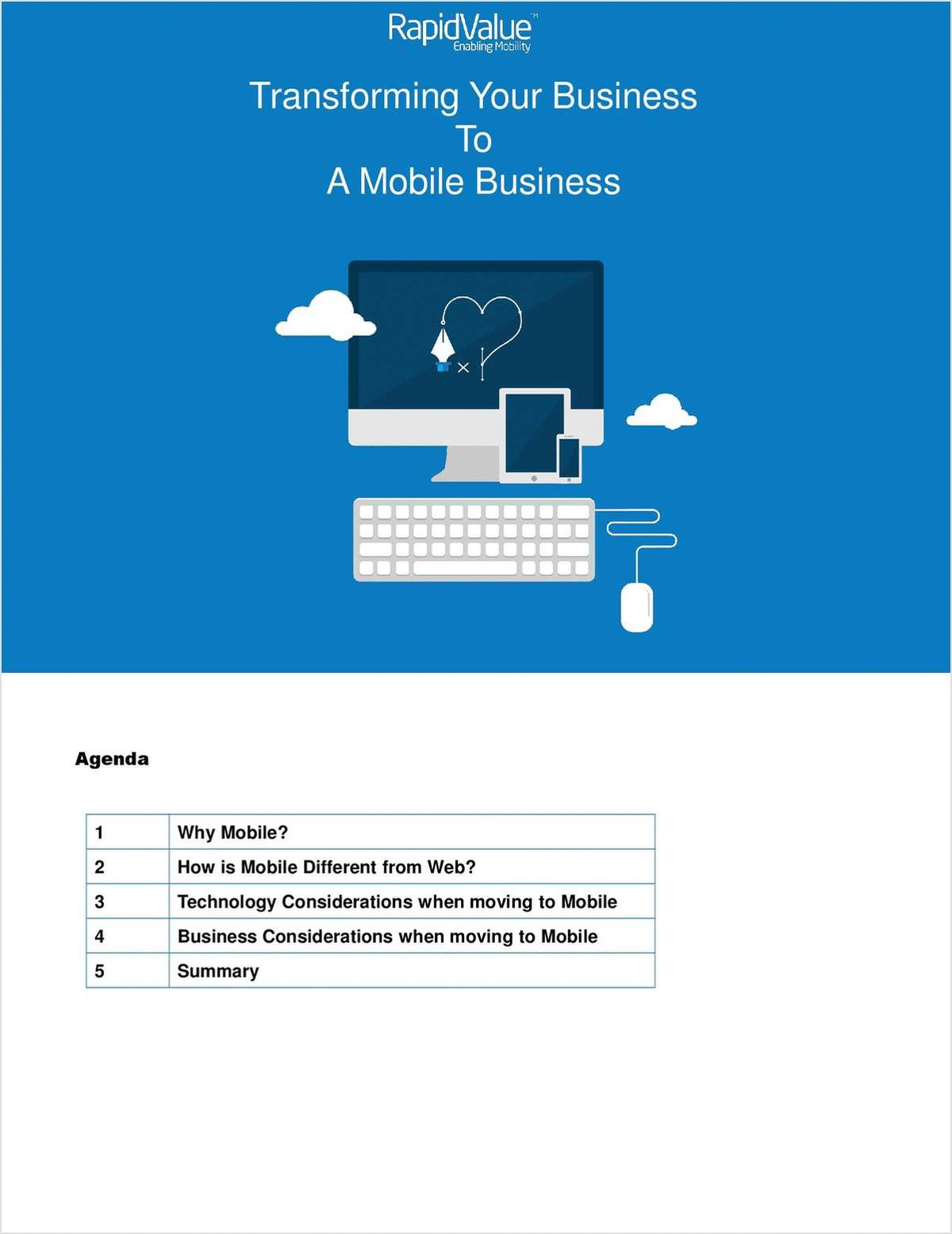 Transforming you Business into a Mobile Business