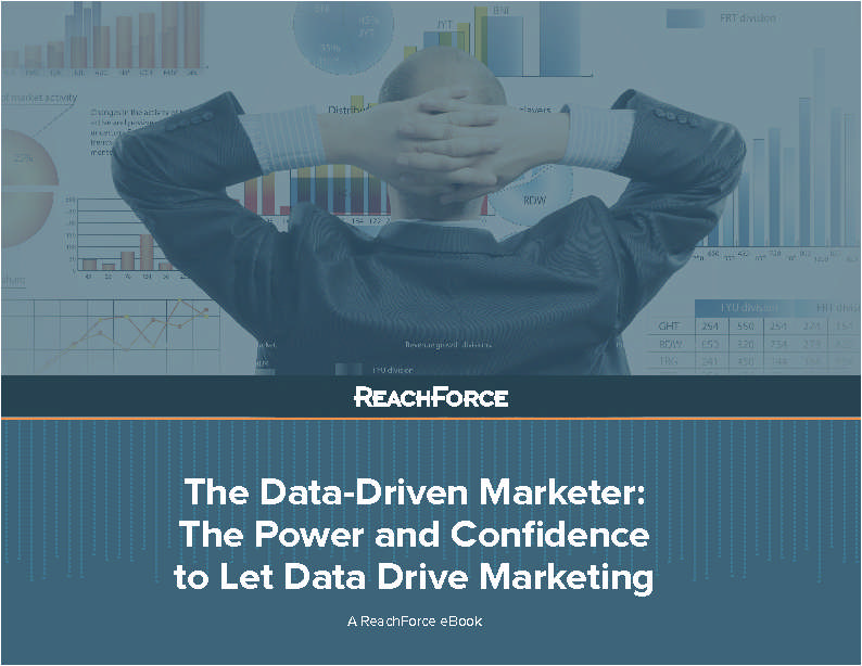 eBook: The Power & Confidence to Let Data Drive Marketing