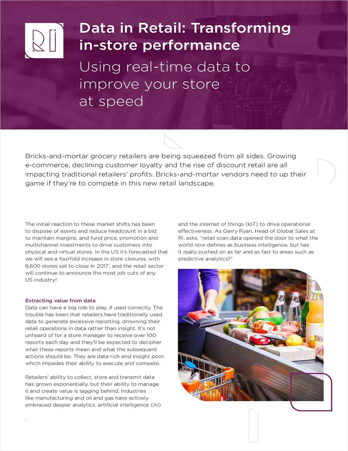 Data in Retail: Transforming In-Store Performance