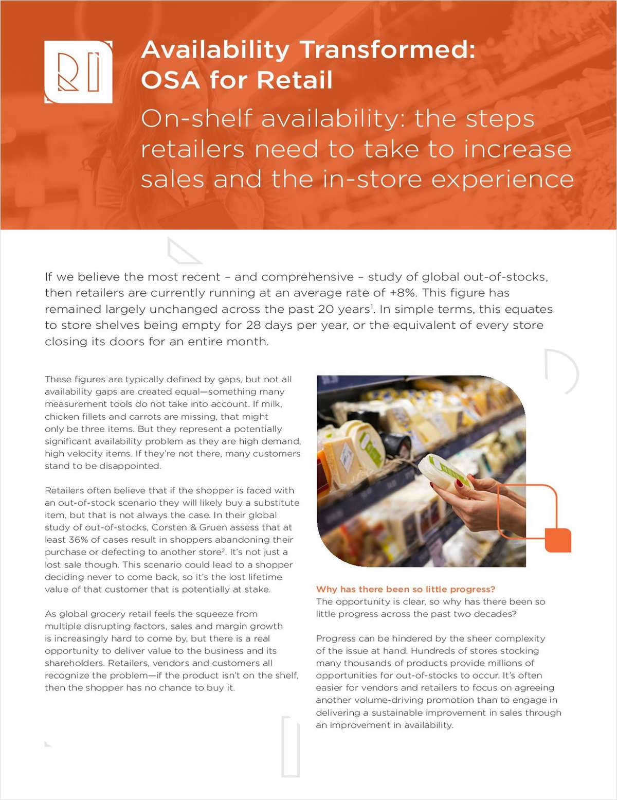 Availability Transformed: OSA for Retail