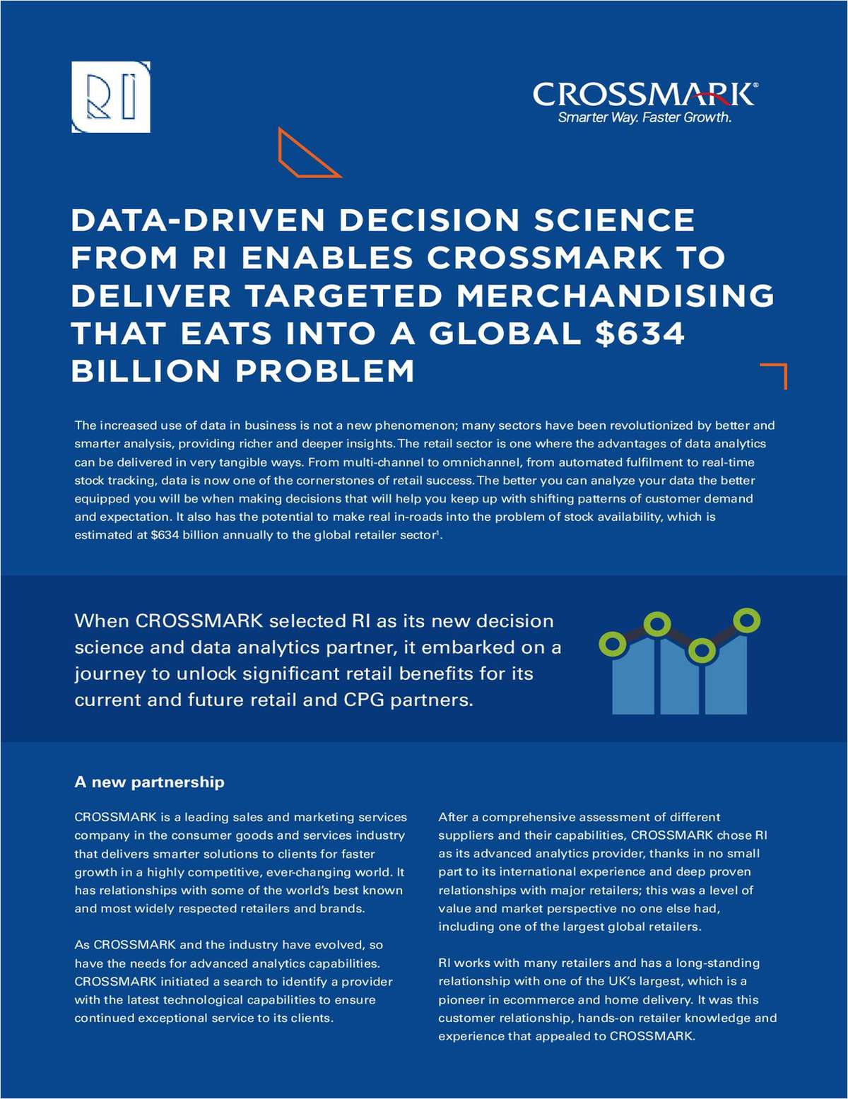 Data-Driven Decision Science From RI Enables Crossmark to Deliver Targeted Merchandising