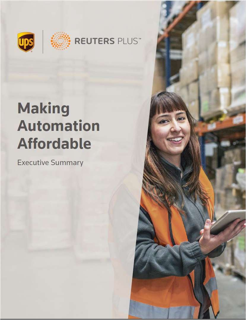 Making Automation Affordable