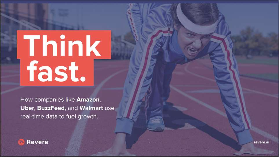 Think Fast: Fuel Growth With Real-Time Data