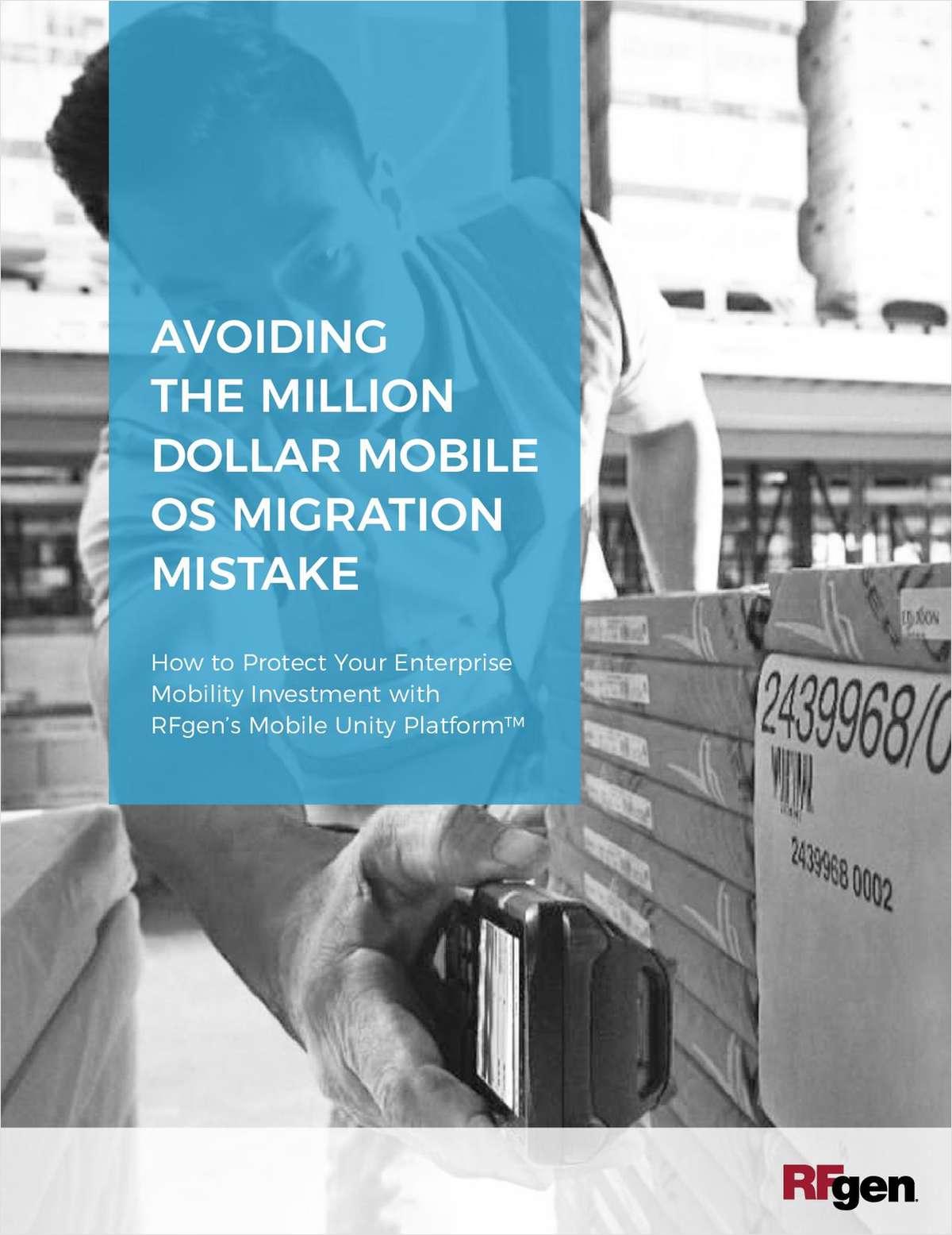 Avoiding the Million Dollar Mobile OS Migration  Mistake