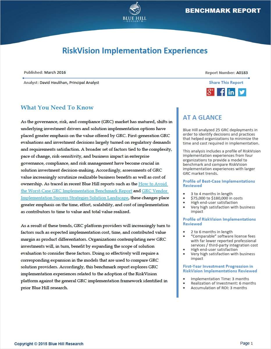 Risk Intelligence: 5 Key Dimensions of Value