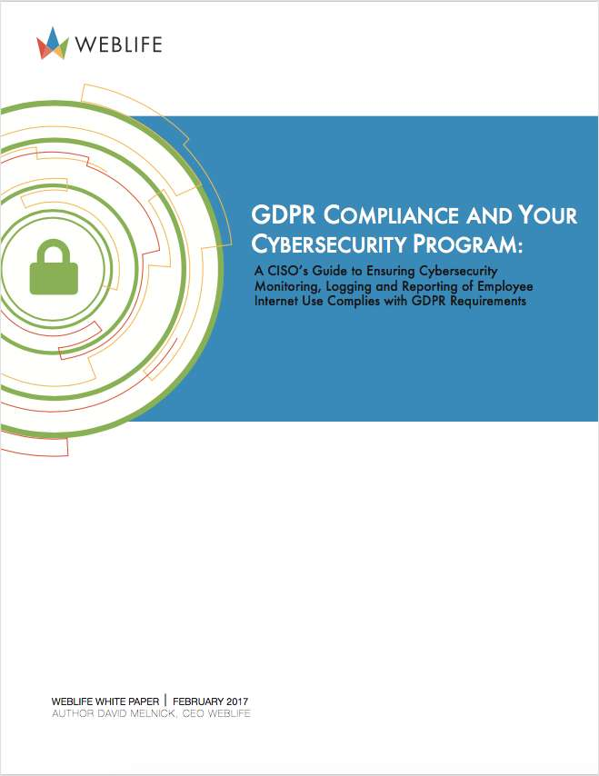 GDPR Compliance and Your Cybersecurity Program