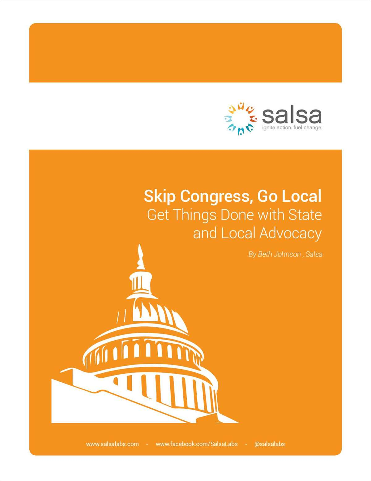 Nonprofits: Skip Congress, Go Local - Get Things Done with State and Local Advocacy