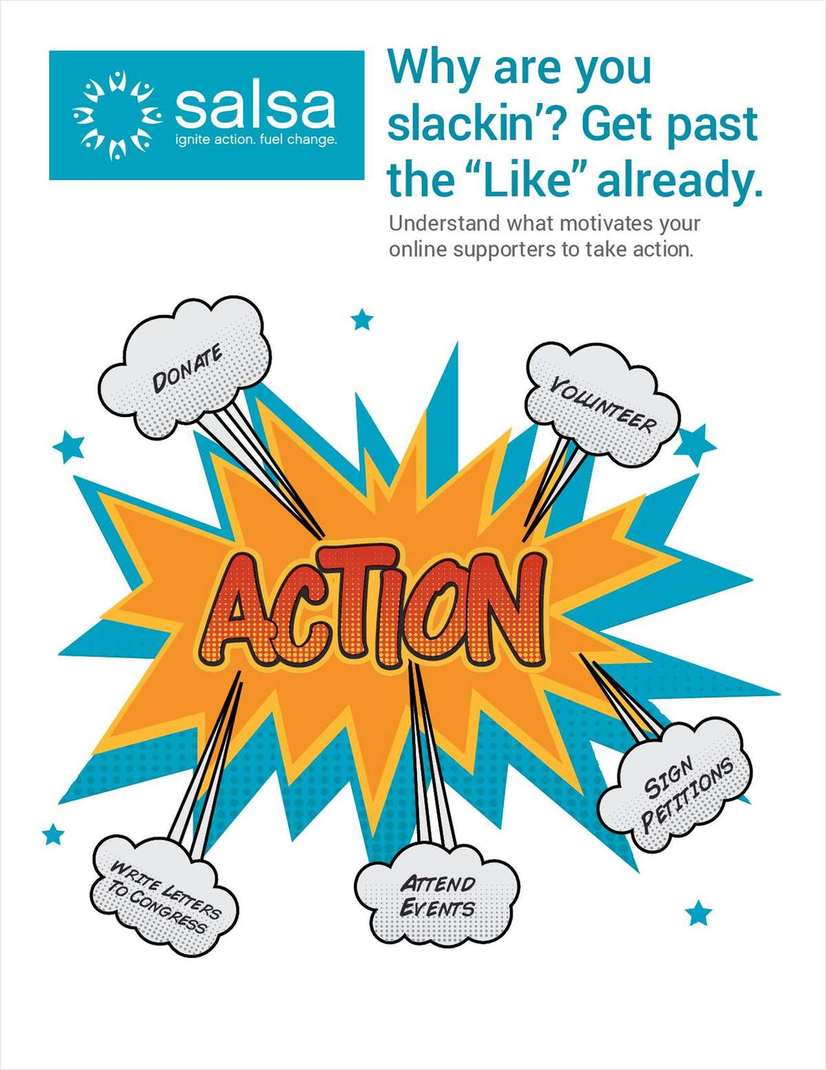 Motivate your online supporters to take action