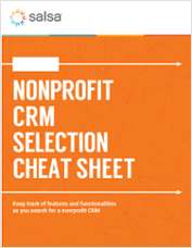The Ultimate Nonprofit CRM Selection Checklist