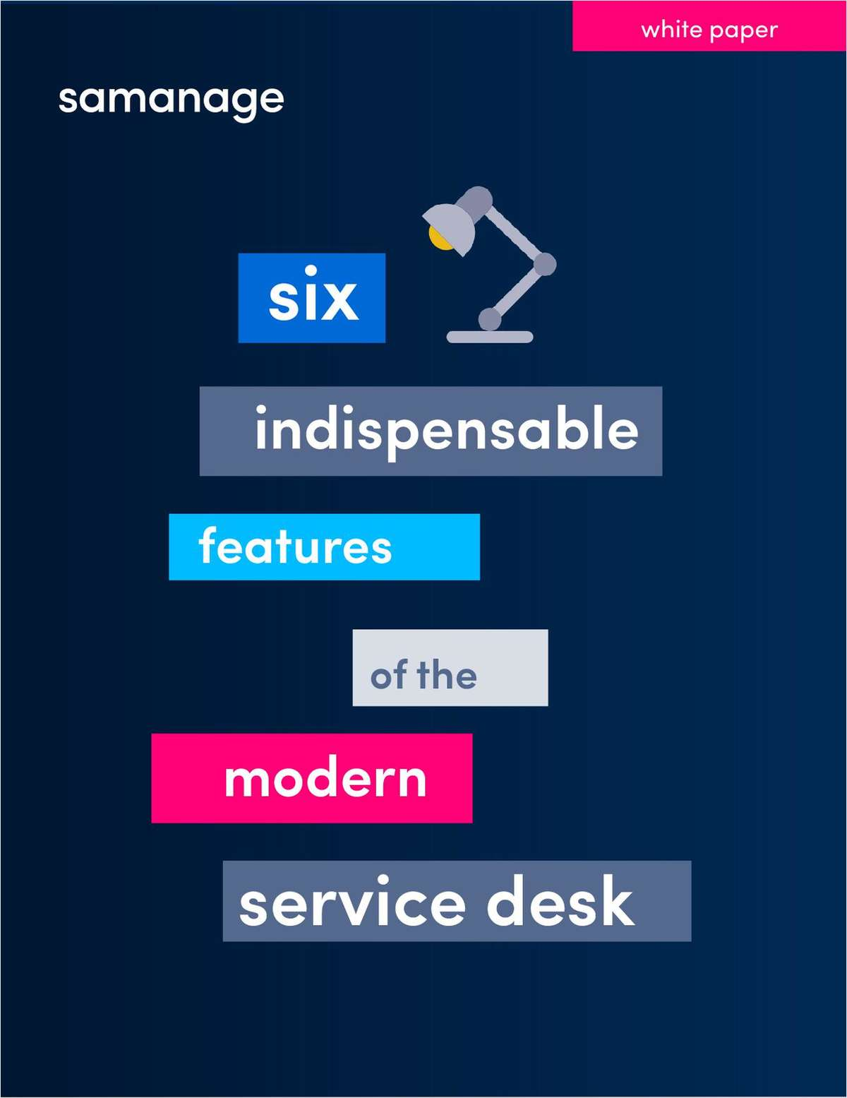 Six Indispensable Features of the Modern Service Desk