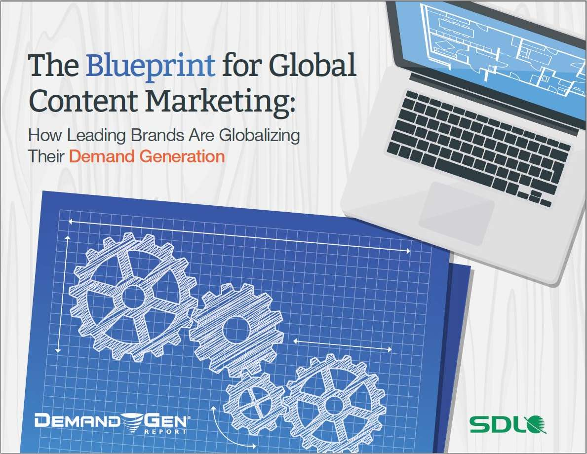 The Blueprint for Global Content Marketing