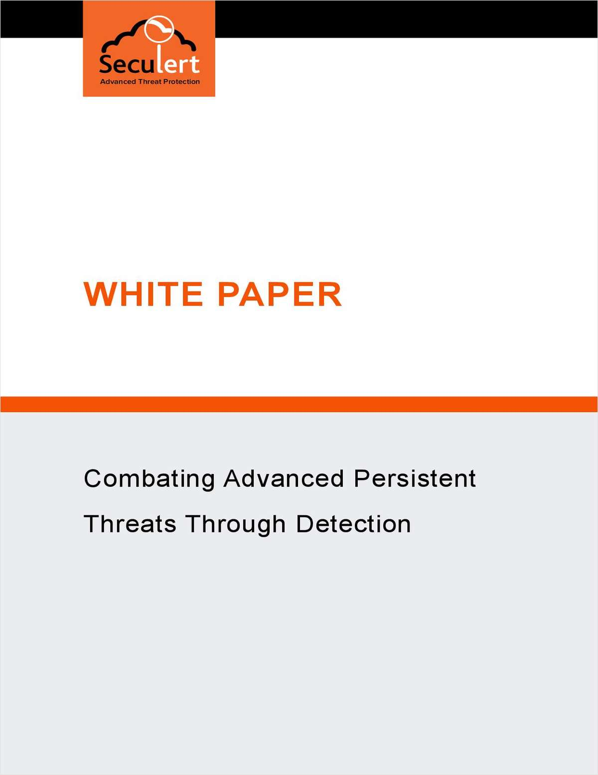Combating Advanced Persistent Threats through Detection