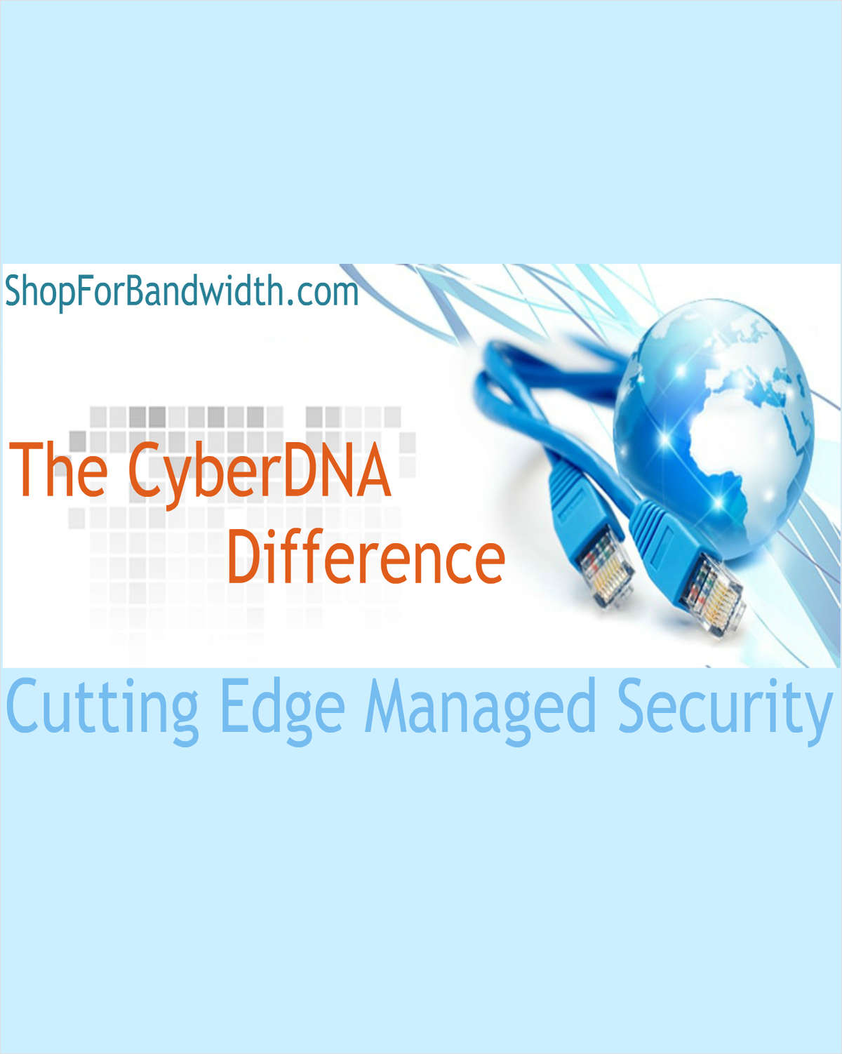 The Cutting Edge Managed Security Solution - The CyberDNA Difference