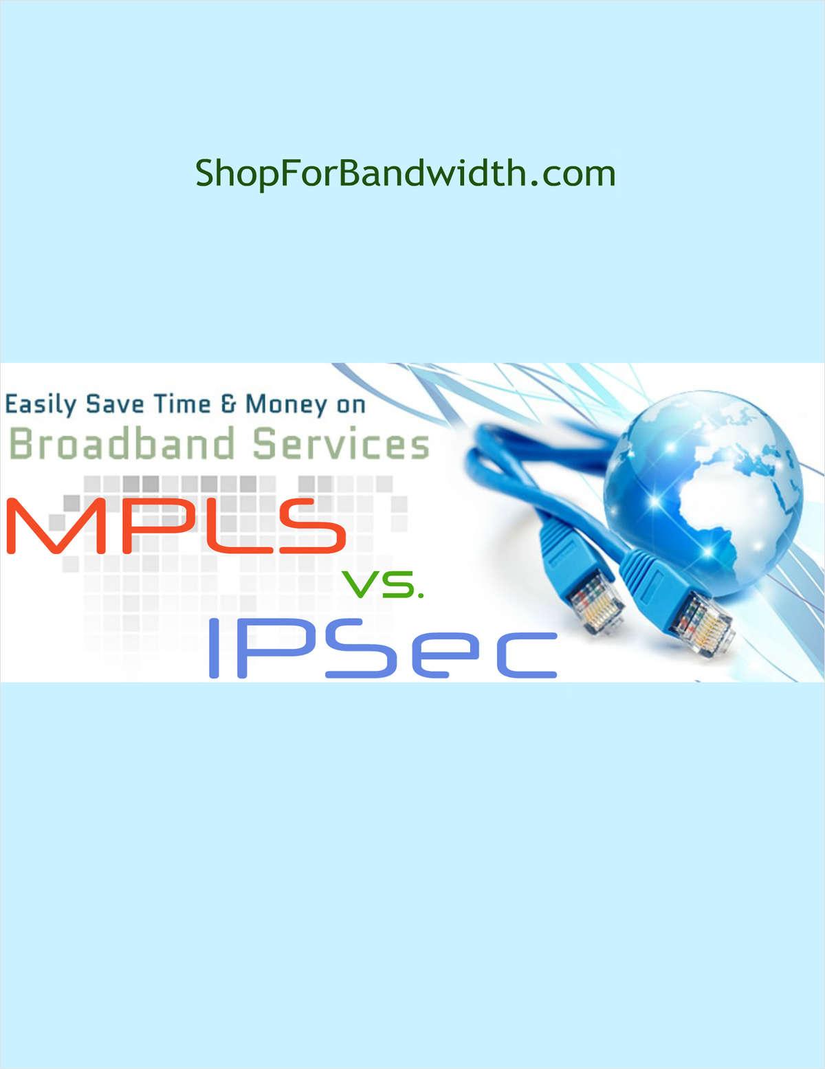 Site to site connectivity - MPLS vs IPSec