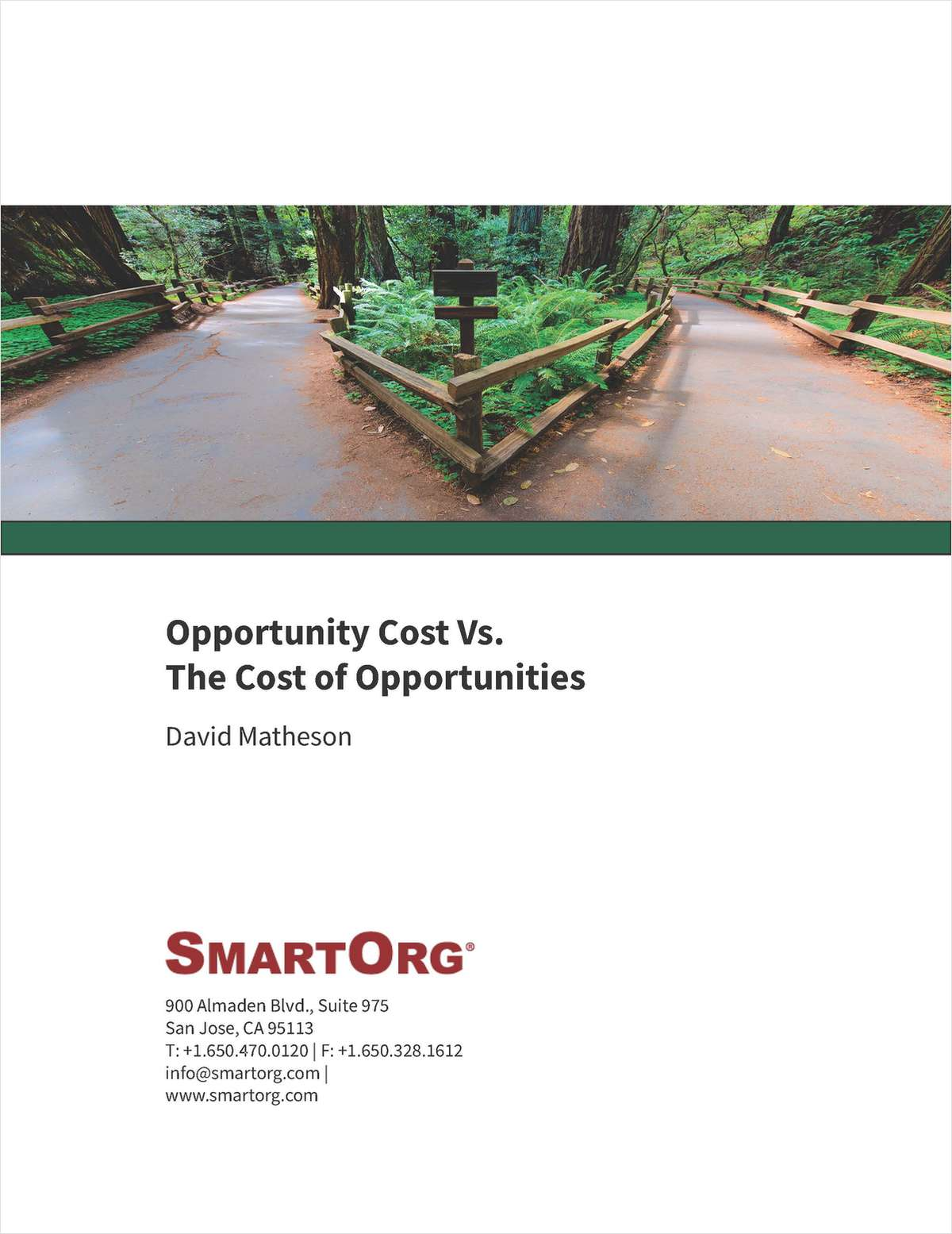Opportunity Cost Vs. The Cost Of Opportunities