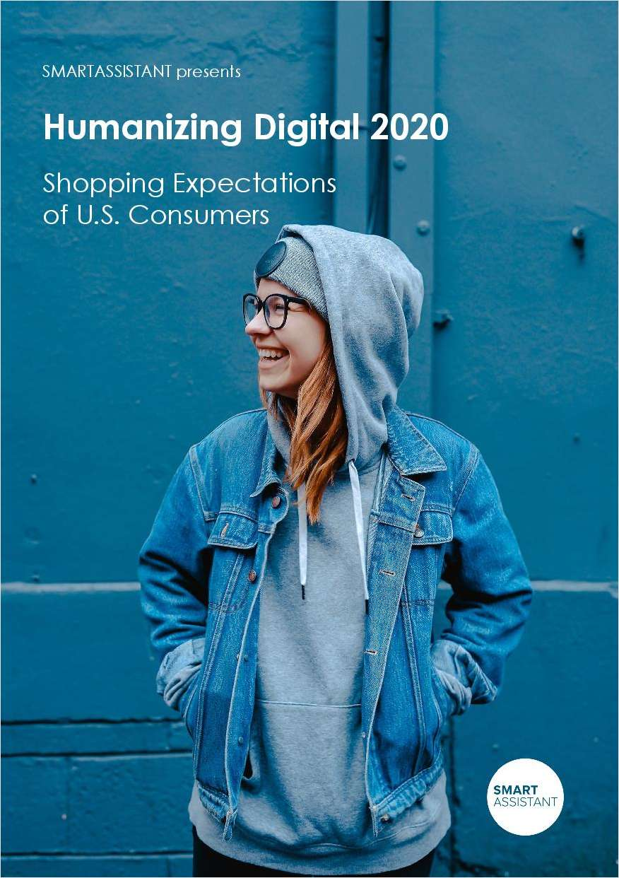 Research: Shopping Expectations of U.S. Consumers