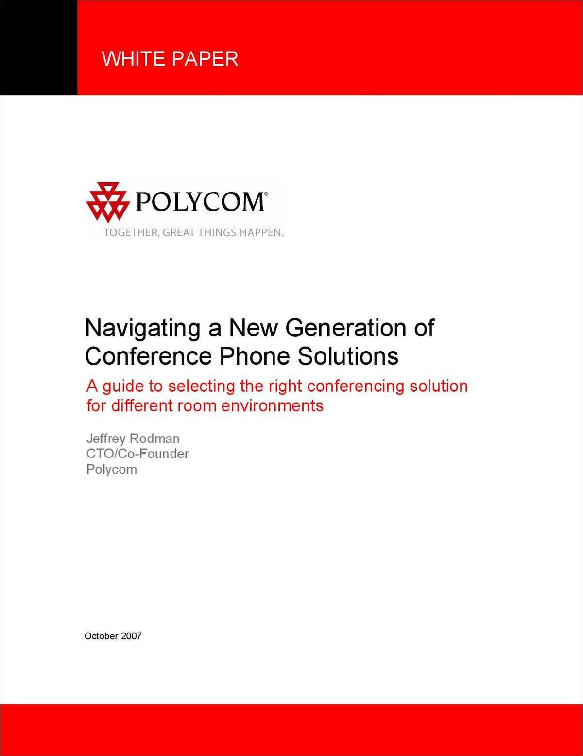 Navigating a New Generation of Conference Phone Solutions
