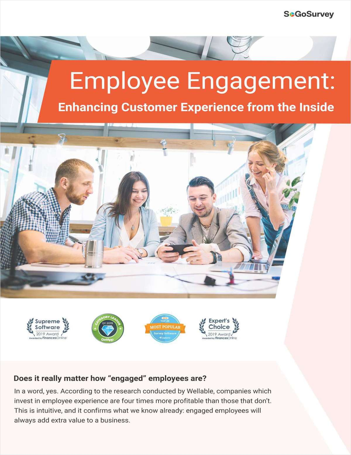 Employee Engagement: Enhancing Customer Experience from The Inside