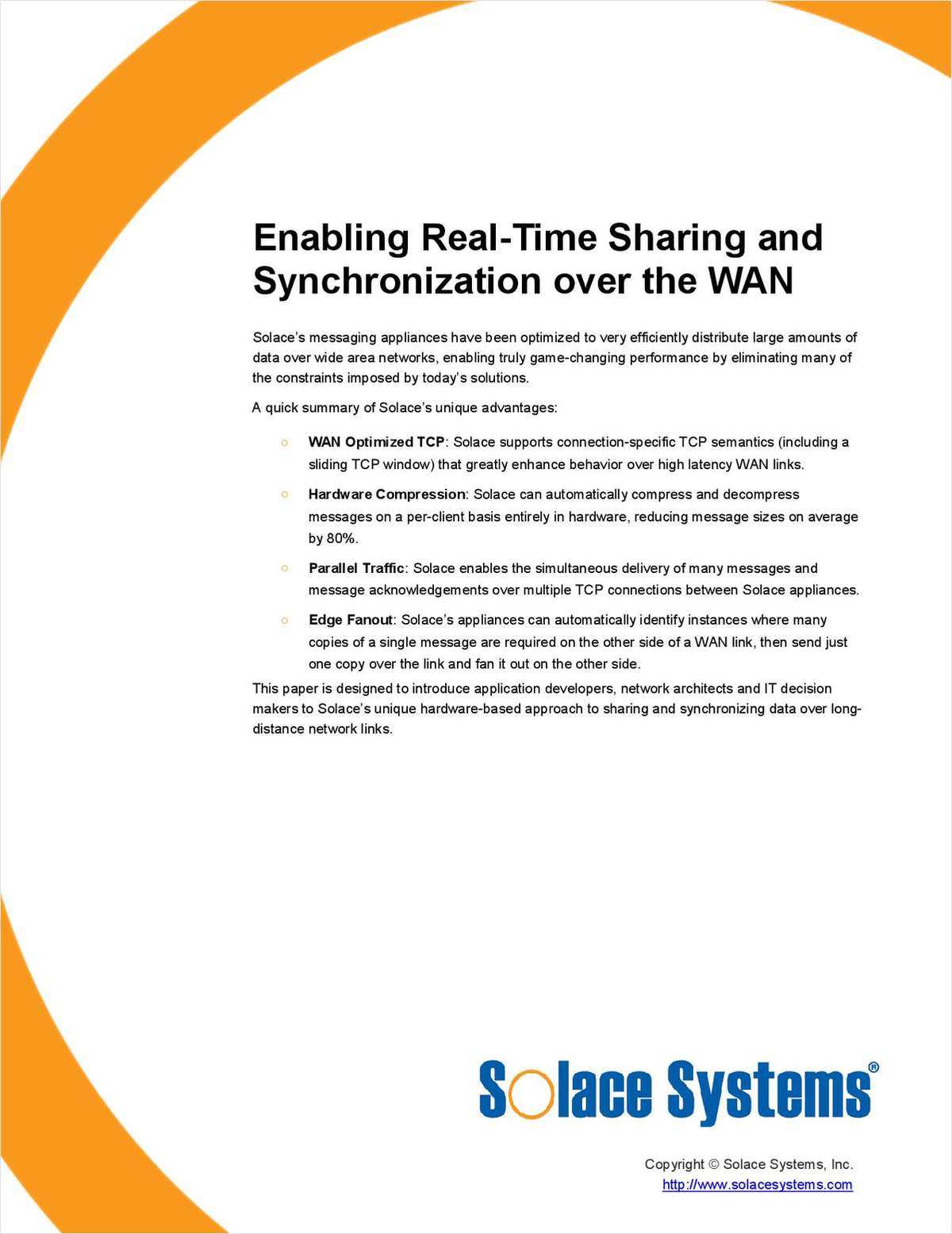 Enabling Real-Time Sharing and Synchronization over the WAN