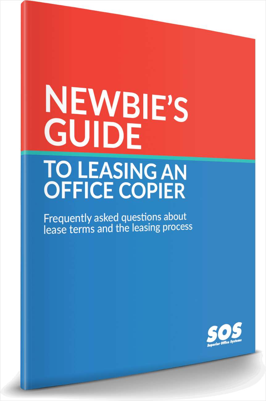 Newbie's Guide to Leasing a Copier