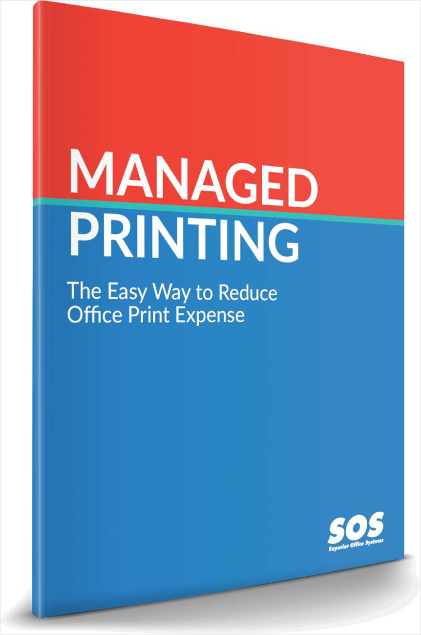 Managed Print: The Easy Way to Reduce Office Print Expense