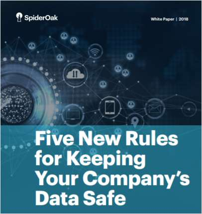 Five New Rules for Keeping Your Company's Data Safe