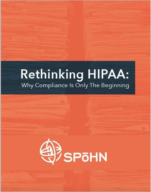 Rethinking HIPAA