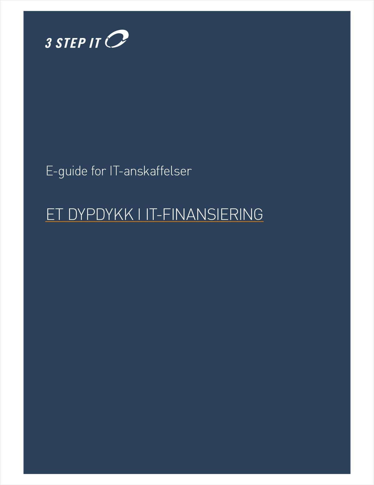 E-guide for IT-anskaffelser - Et dypdykk i it-finansiering