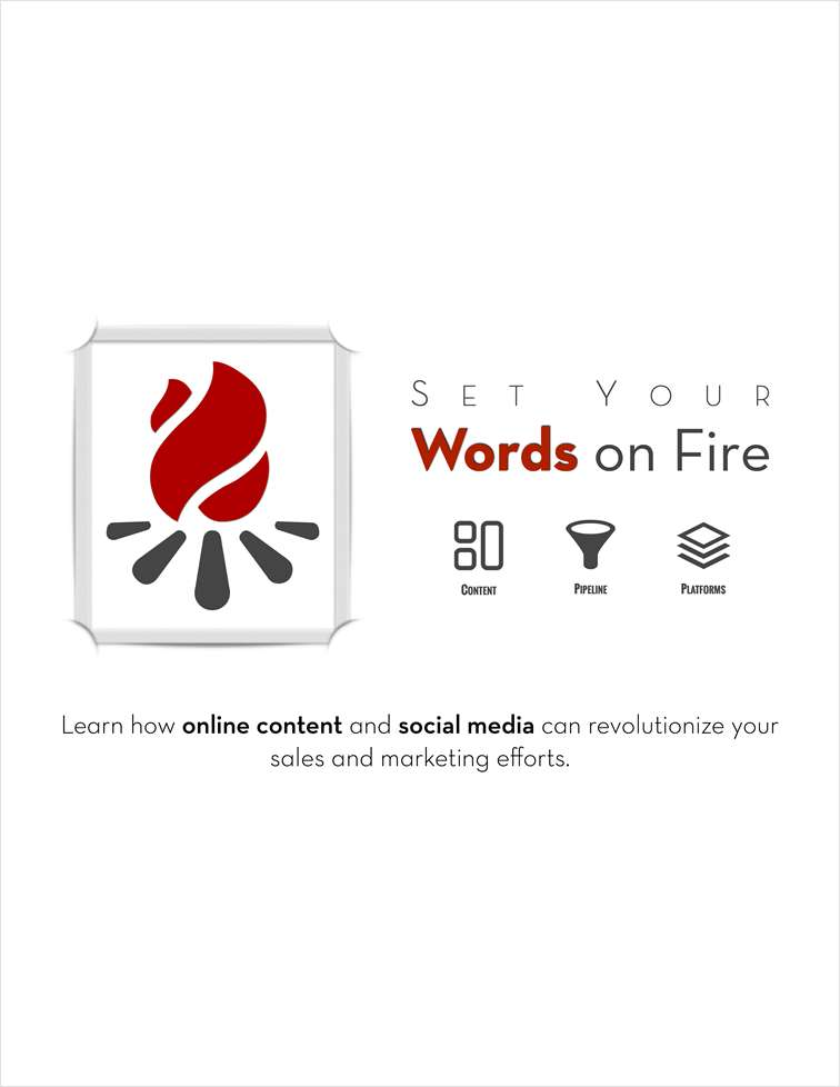 Set Your Words on Fire
