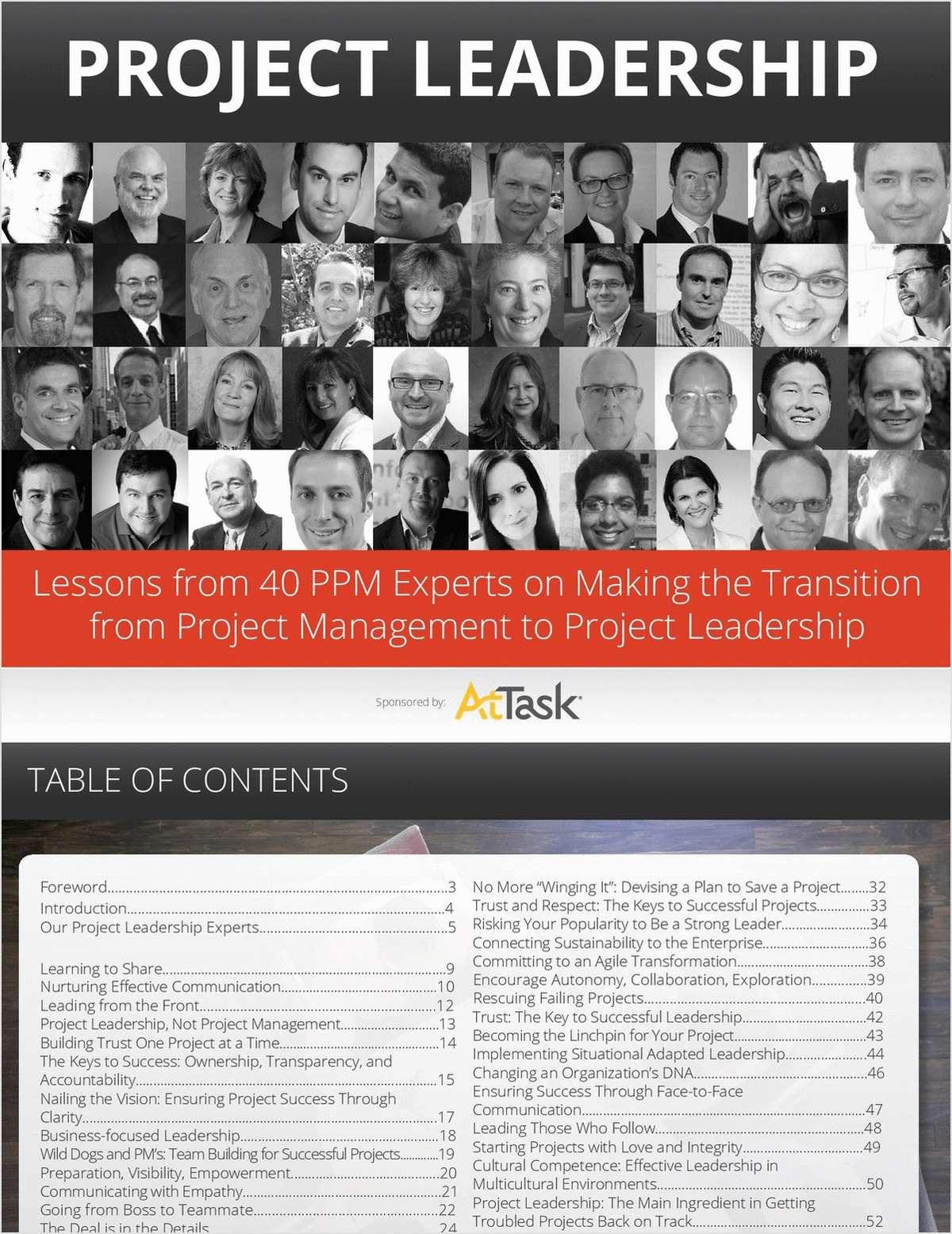 Project Leadership eBook