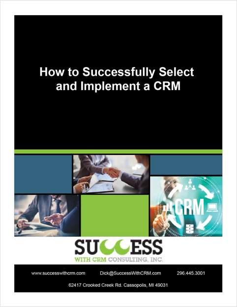 How to Successfully Select and Implement a CRM system