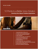 12 Steps to A Better Voice Solution
