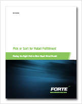 Pick or Sort for Retail Fulfillment