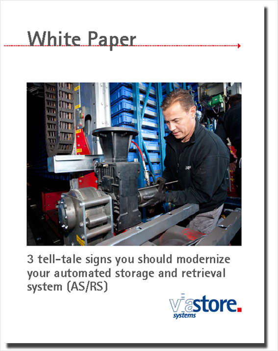 3 Tell-Tale Signs You Should Modernize Your Automated Storage and retrieval System (AS/RS)