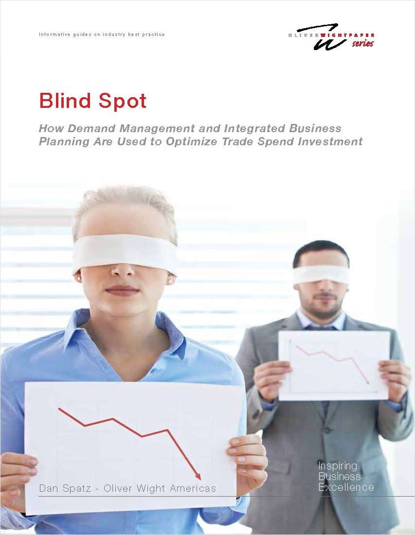 How Demand Management and Integrated Business Planning Are Used to Optimize Trade Spend Investment