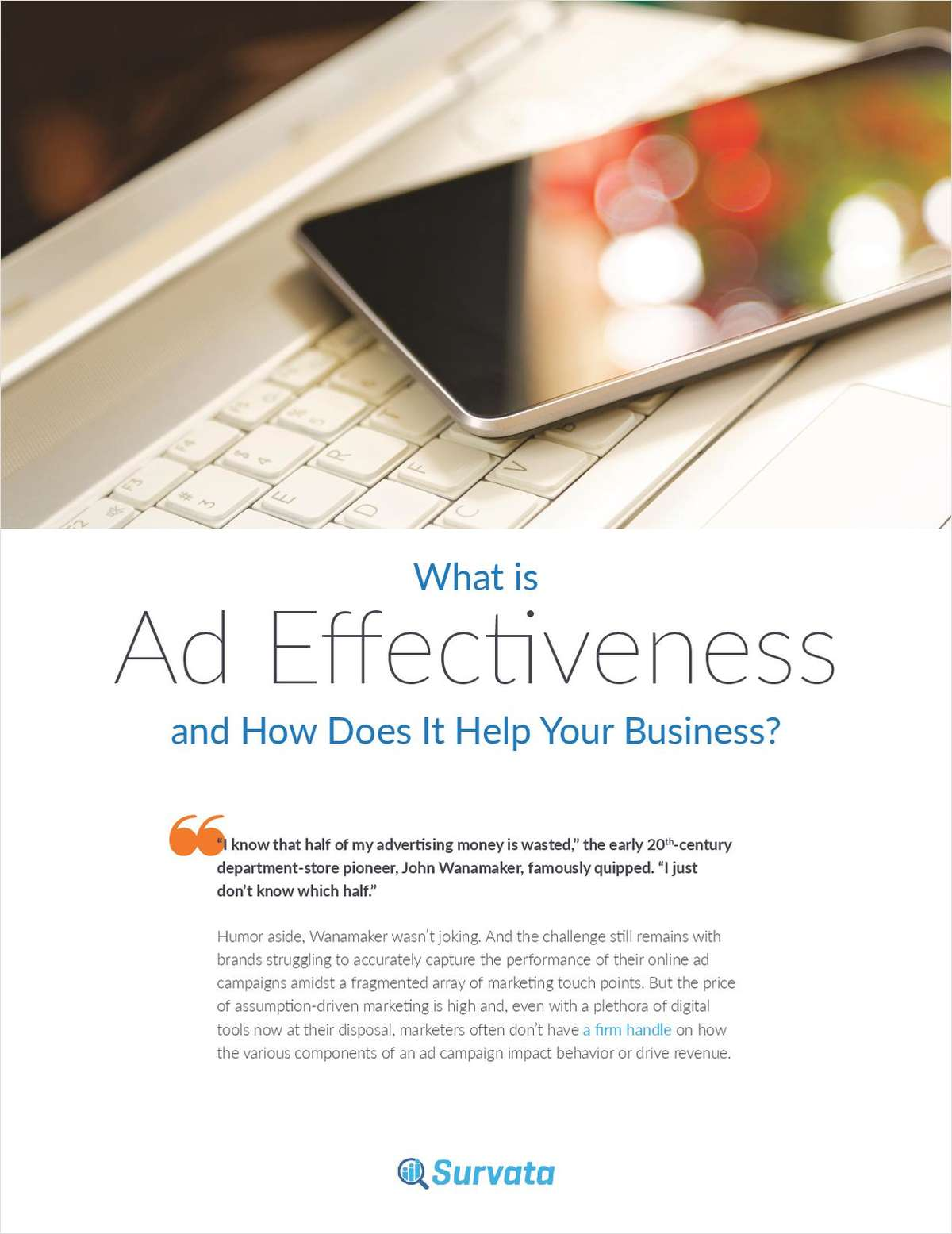 What is Ad Effectiveness and How Does It Help Your Business?