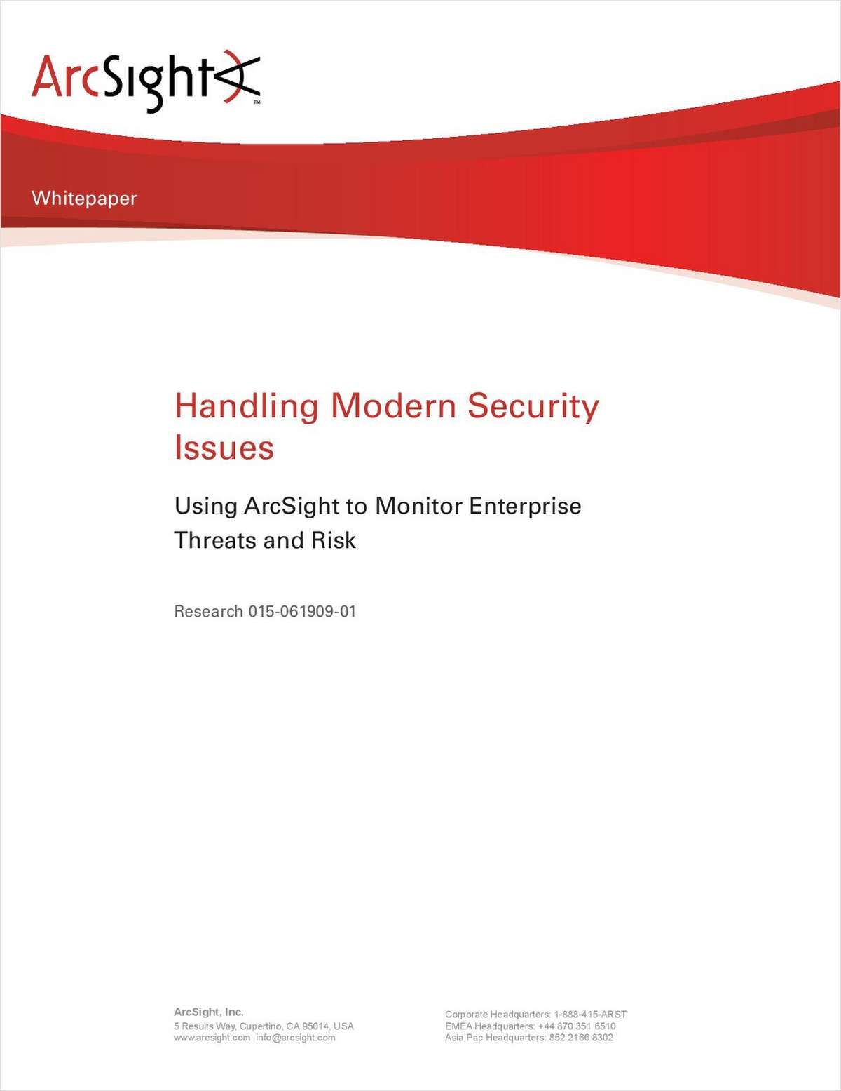 Handling Modern Security Issues - The Trusted Insider