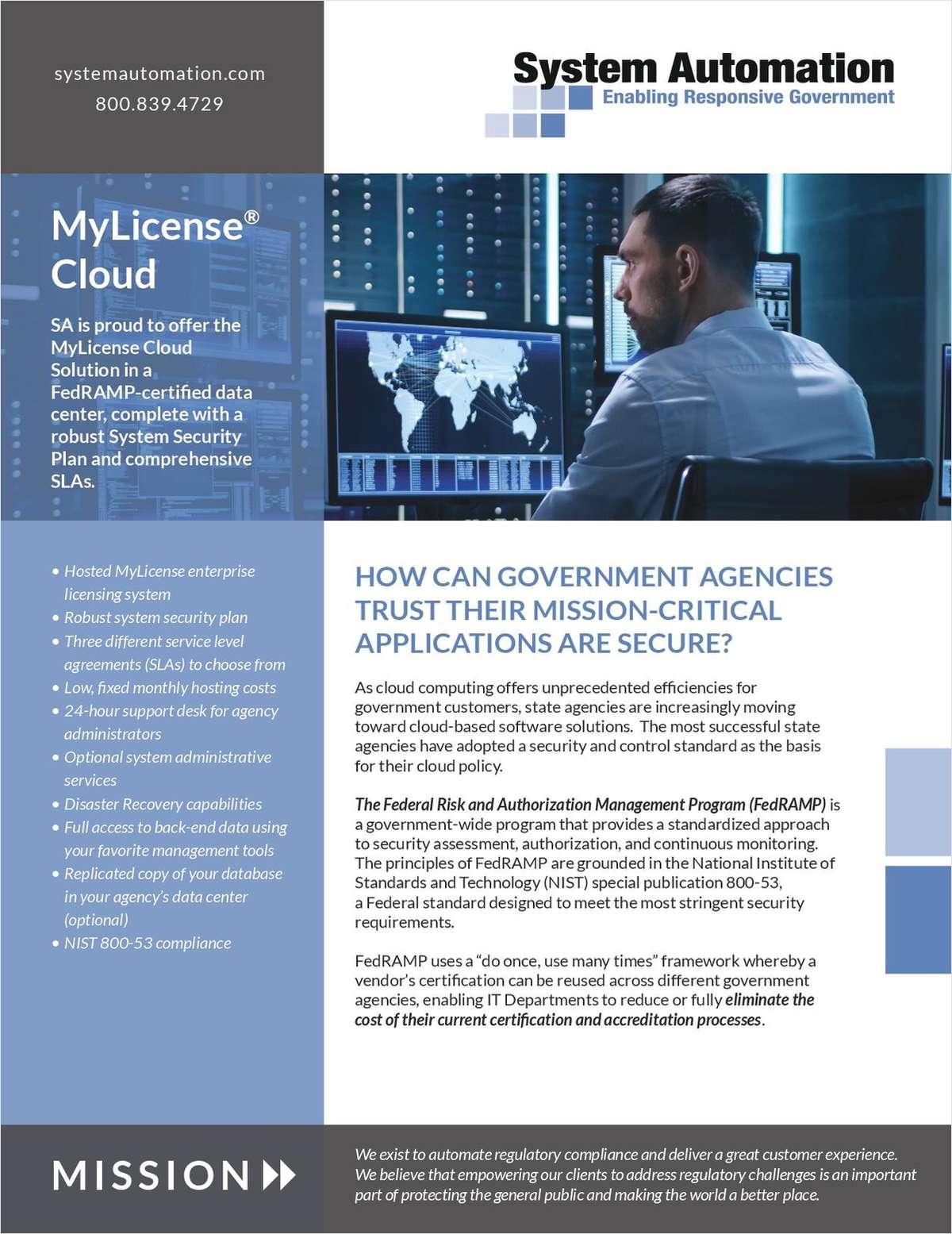 MyLicense Platform
