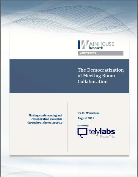 The Democratization of Meeting Room Collaboration