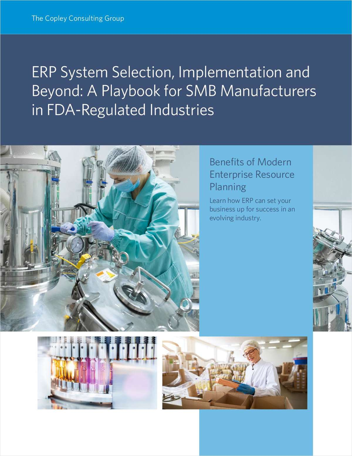 ERP & FDA Compliance: A Playbook for SMB Manufacturers in FDA-Regulated Industries