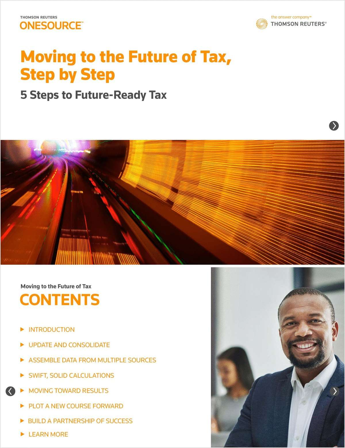 Moving to the Future of Tax, Step by Step
