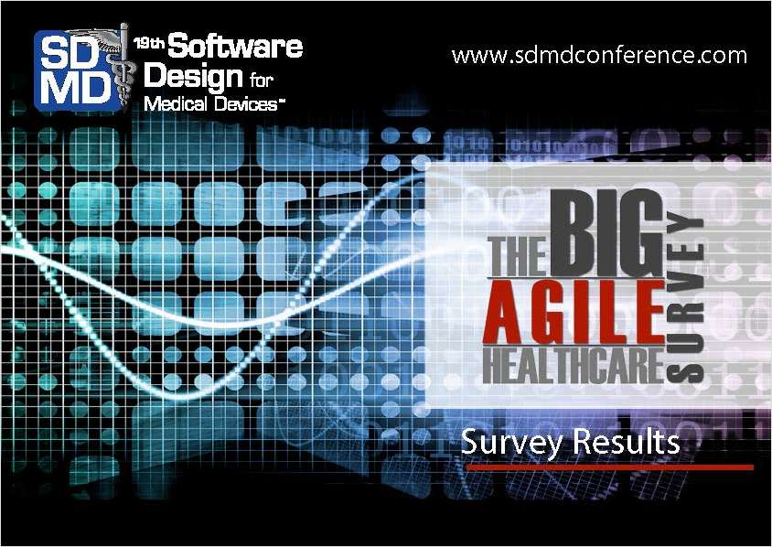 The BIG Agile Healthcare Survey Report
