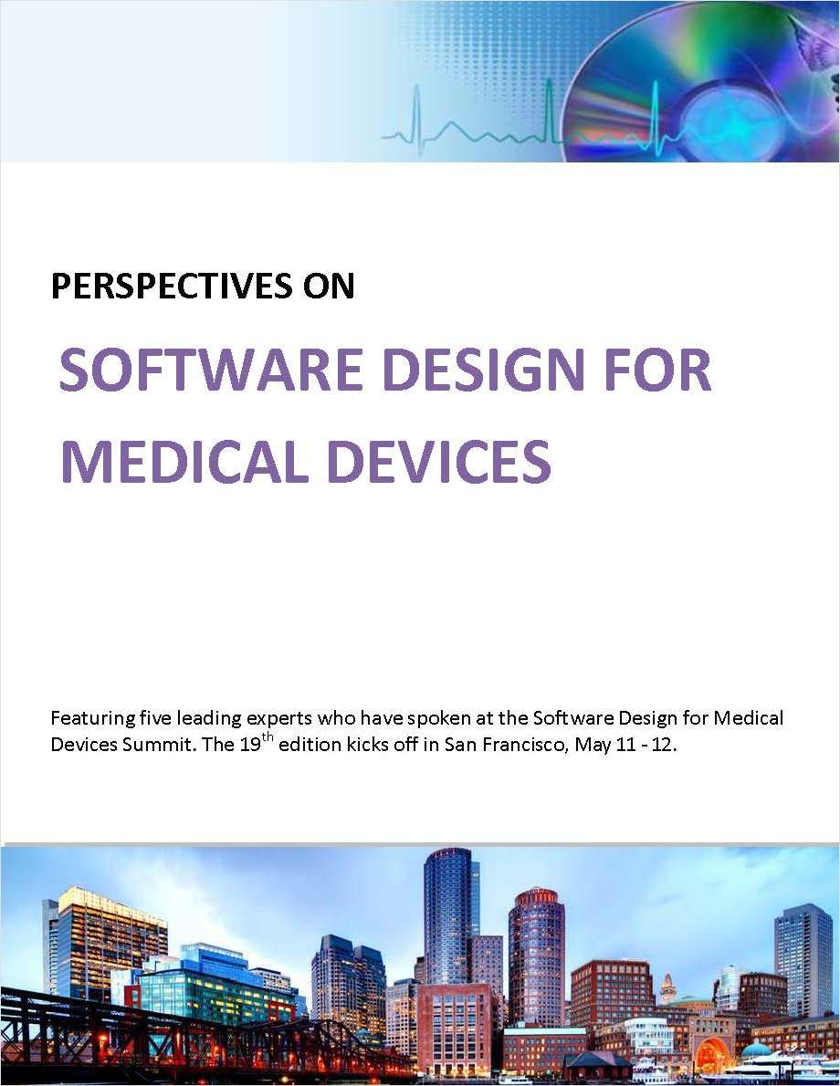 Five Perspectives on Software Design for Medical Devices